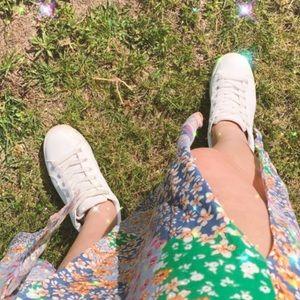 steve madden bertie white platform sneaker